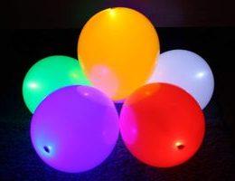 Светящиеся воздушные шарики: бизнес на необычных подарках
