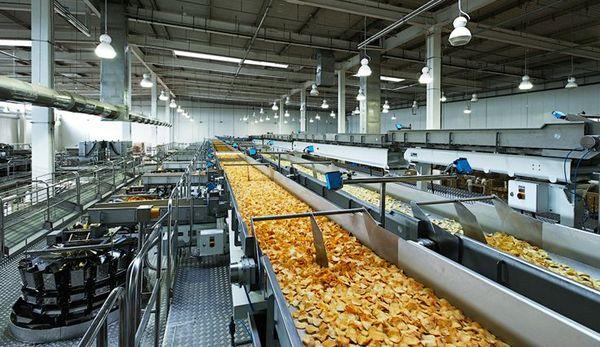 мини линия производства чипсов: