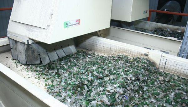оборудование для переработки стекла