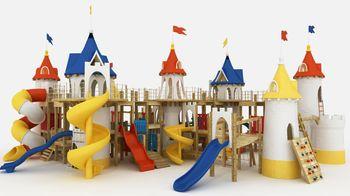 детские площадки и комплексы