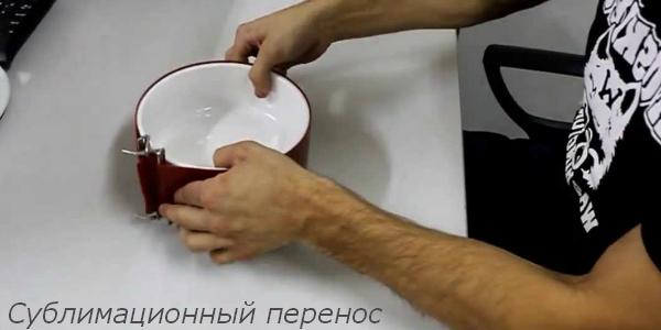 перенос изображений при помощи термоклипсы