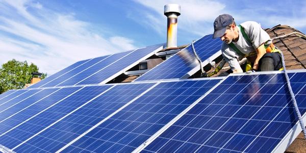 Установка на дом солнечных панелей