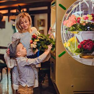 Заработок на вендинговом автомате для цветов