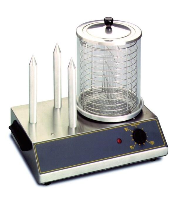 Один из самых функциональных аппаратов для приготовления хот-догов - паровое оборудование