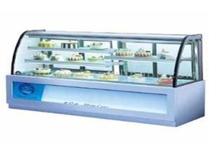 Десертная холодильная витрина для магазинов.