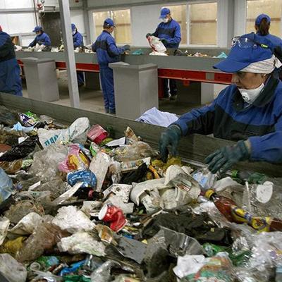 Процесс работы сотрудников месороперабатывающей компании.