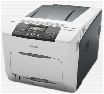 Печать струйным принтером.