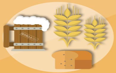 Процесс производства солода для бизнеса.