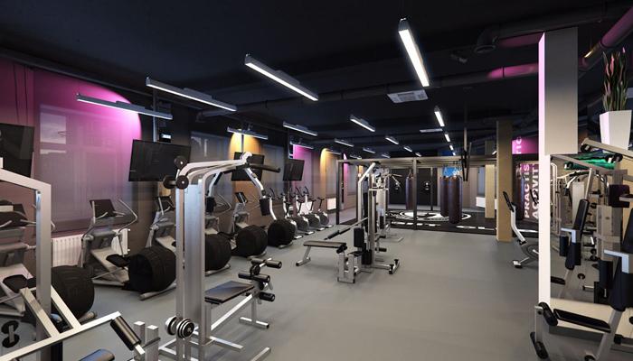 Пример необходимого оборудования для фитнес-клуба.
