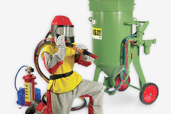 Аппараты DBS предназначены для абразивной очистки конструкций из металла.