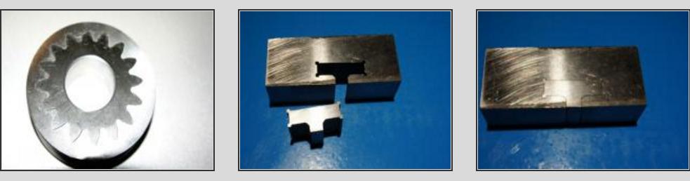 Обработка метала станком.