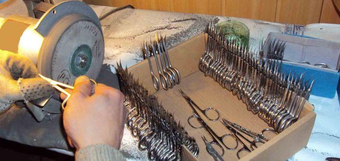 как заточить маникюрные инструменты