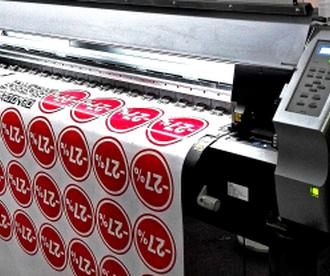 Печать на самоклеющейся пленке: технология и оборудование