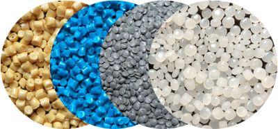 полимеры в гранулах