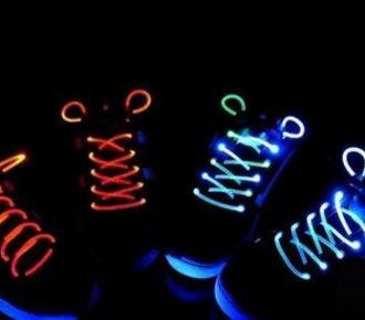 Изготовление светящихся шнурков своими руками