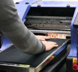 Какой выбрать текстильный принтер — виды и характеристики