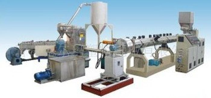 оборудование для переработки полиэтилена