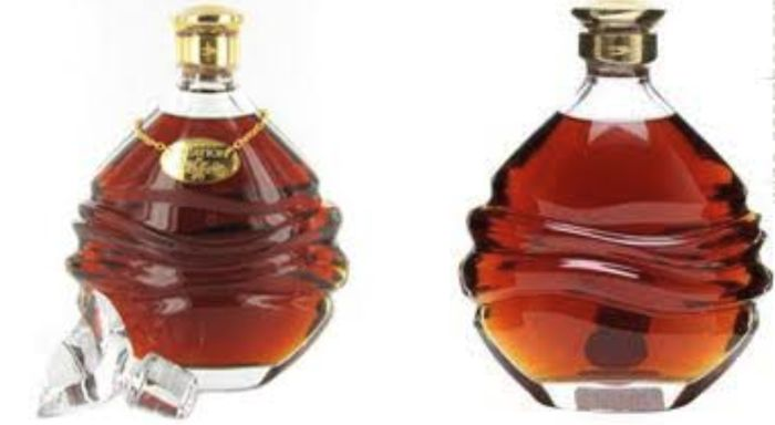 Martell Greation Cognac In Handcarver Baccard Decanter