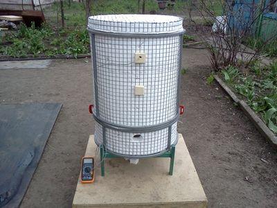 газовая печь для обжига керамики