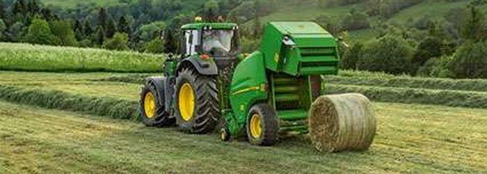 пресс-подборщик для трактора