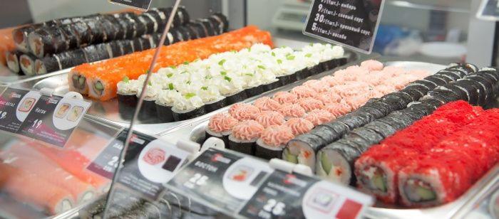 продажа суши на вынос