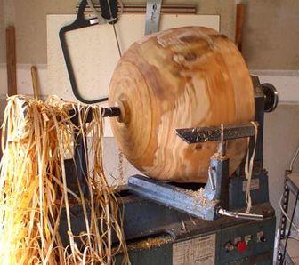 станок для деревянной посуды