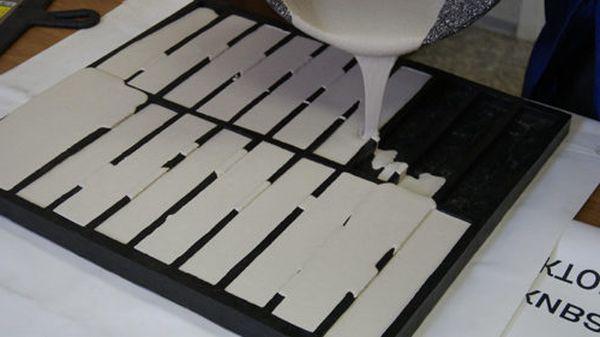 производство плитки из гипса