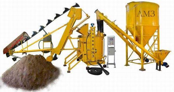 оборудование для газосиликатных блоков