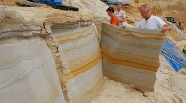 технология изготовления гибкого камня
