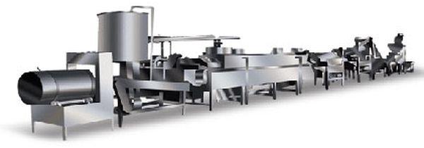 производство картофельных чипсов