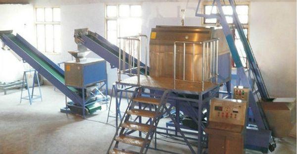 оборудование для стирального порошка