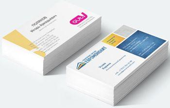бизнес на печати визиток