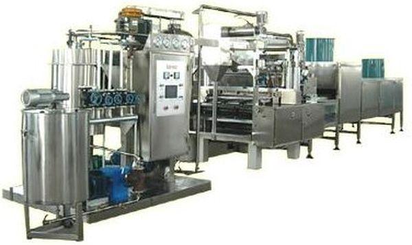 линия по производству леденцов