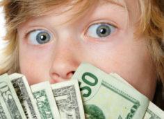 Экономия карманных денег у школьников