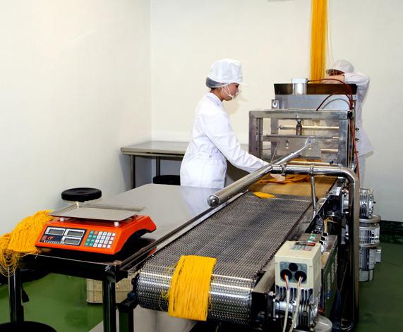 Вариант помещения для бизнеса по производству лапши быстрого приготовления.