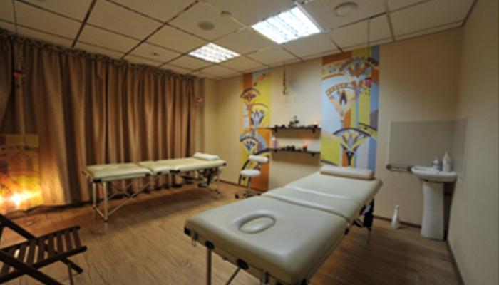 Дизайн интерьера для предоставления услуг массажа.