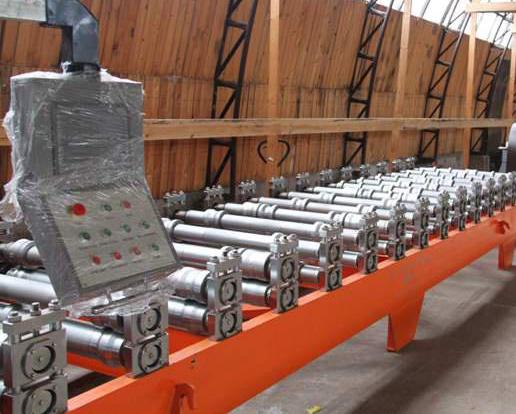 Оборудование высокой технологичности для производства профнастила.