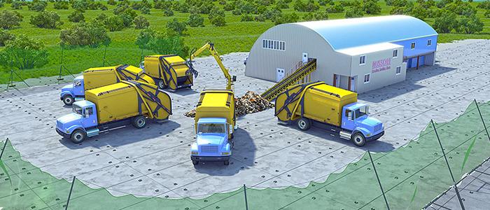 Завод по изготовлению сахарного песка.