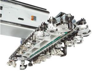 Оборудование даёт возможность производить обработку деталей.