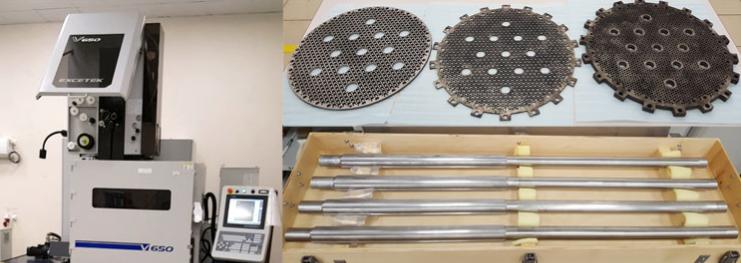 Компания Sodick, производящая проволочно-вырезные электроэрозионные станки.