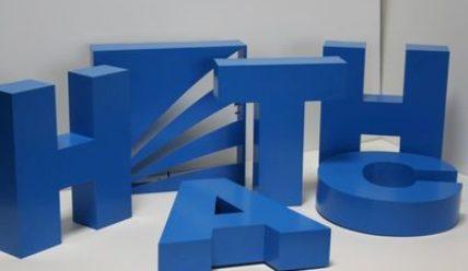 Реклама объемных букв своими руками