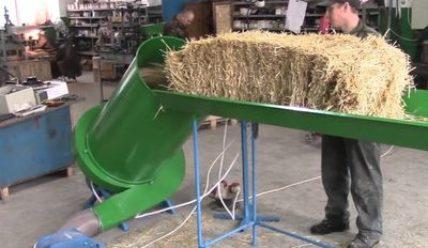 Измельчители соломы и сена — виды и устройство
