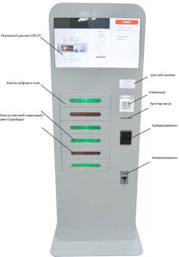 устройство автомата для зарядки