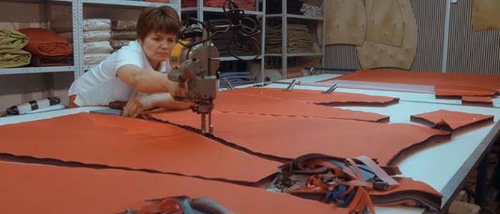производство бескаркасной мебели