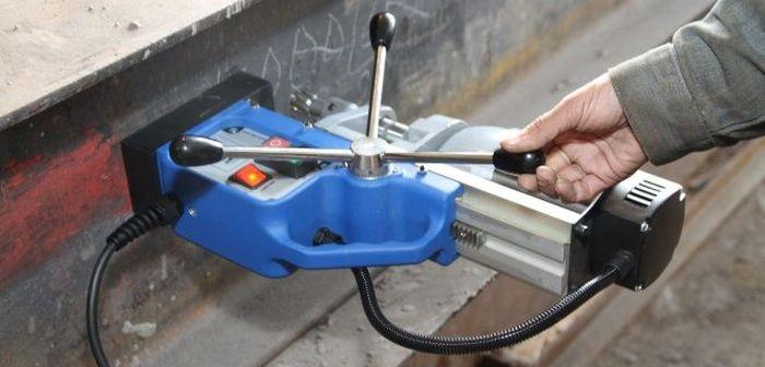 сверлильный станок на магнитной основе