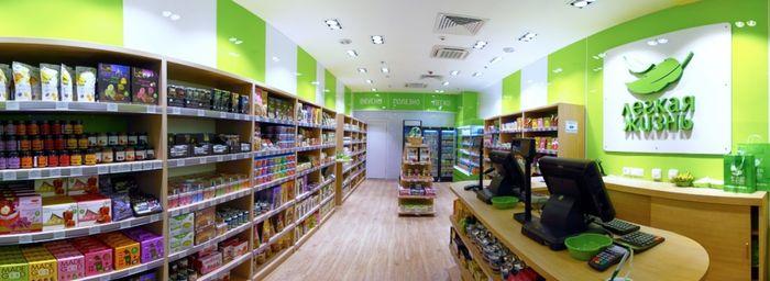 оборудование для магазина здорового питания