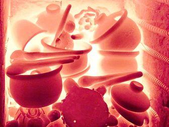 обжиг глиняной посуды