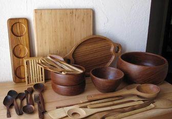Изготовление посуды из дерева