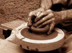 посуда из глины своими руками