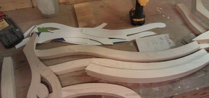 производство мебели из фанеры